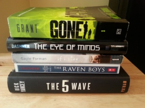 My TBR for Bout of Books
