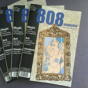 This is the cover of my magazine, titled 808 Magazine