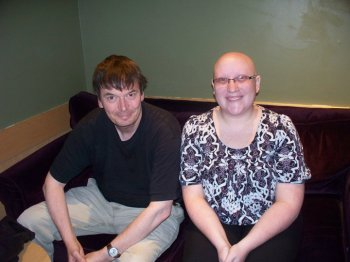Me with the lovely Ian Rankin