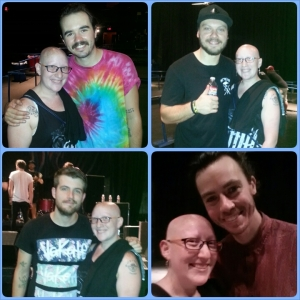 Clockwise (Coops, Matty P, Trenton, Alex). Such great guys!