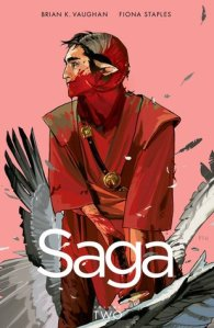 Saga, volume 2 Cover