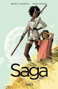 Saga, volume 3 Cover