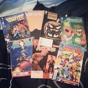 Halloween ComicFest haul