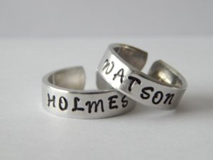 Holmes and Watson ring