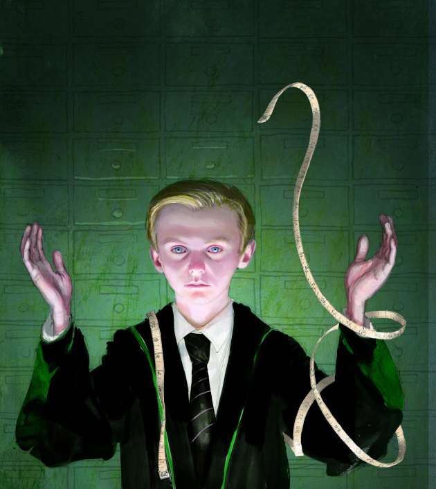 Draco Malfoy by Jim Kay