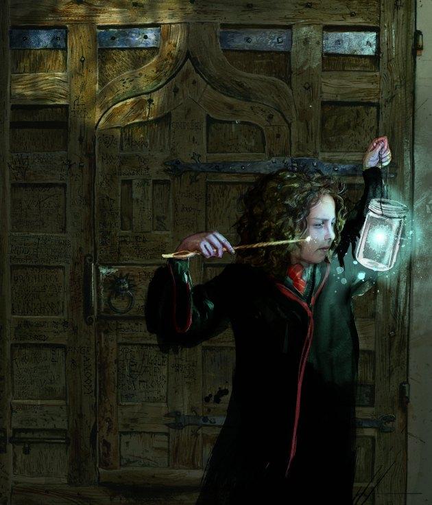Hermione by Jim Kay