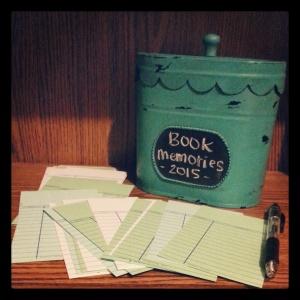 Book Memories Challenge 2015