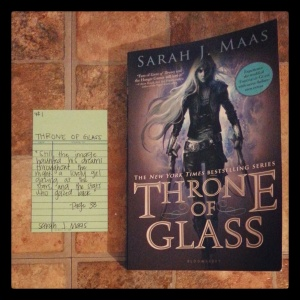 Throne of Glass - Book Memories