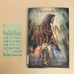 The Iron Trial - Book Memories