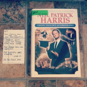 NPH's Choose Your Own Autobiography - Book Memories