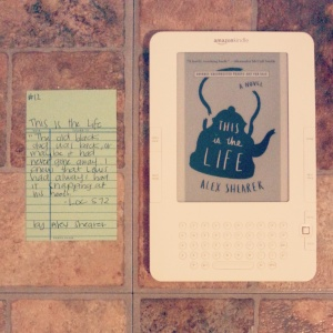 This is the Life - Book memories challenge