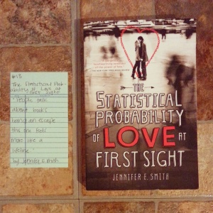 The Statistical Probability of Love at First Sight - Book memories challenge