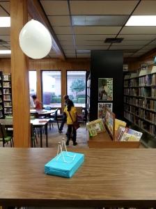 A small study area.