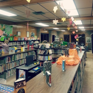 The children's section.