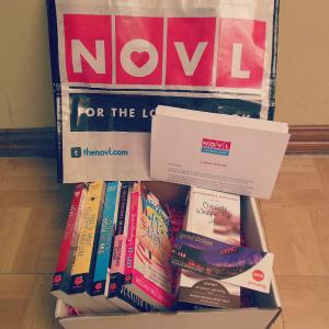April NOVL box