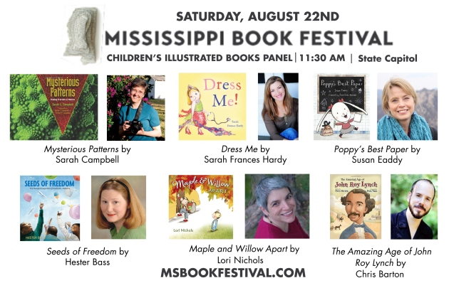 Children's Illustrated Panel at the Mississippi Book Festival