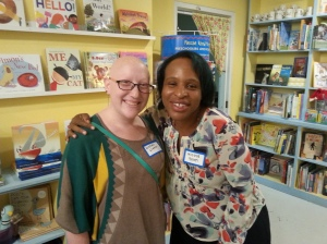Nicola Yoon and me