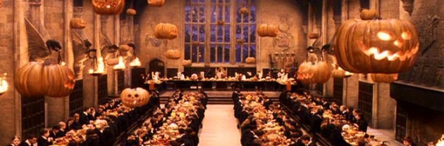 Great Hall at Halloween