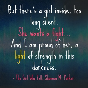 The Girl Who Fell Quote