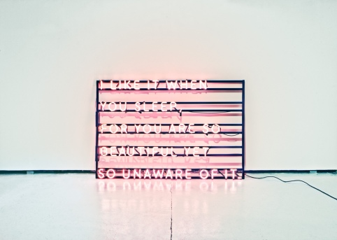 The 1975 I like it when you sleep, for you are so beautiful yet so unaware of it