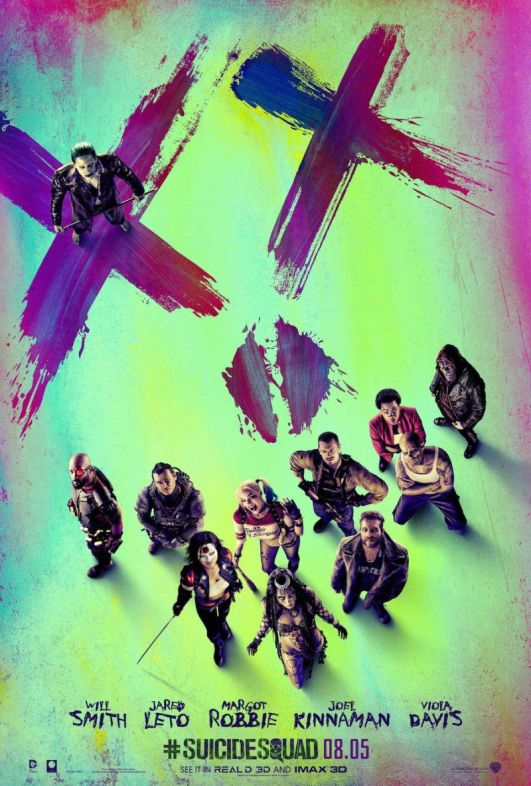 Suicide Squad Movie poster 2