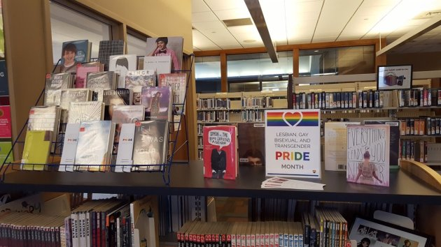 Pride Month Display