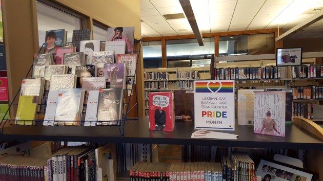 Pride Month Display